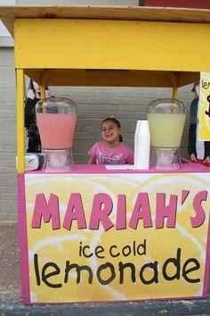 1000 images about lemonade stands on pinterest lemonade for Cool lemonade stand ideas