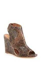 Joie 'Kelcey' Perforated Wedge Sandal (Women)