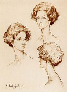 Marella Agnelli by Alejo Vidal-Quadras Cap Ferrat, 1959