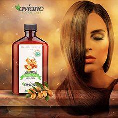 Avíanō Botanicals Argan Oil - 100% Pure & USDA Certified ORGANIC Moroccan Argan Oil - Large 100ml Bottle Best Volumizing Hair Products, Advanced Hair, Hair Loss Shampoo, Biotin, Grow Hair, Argan Oil, 100 Pure, Hair Growth, Heavenly
