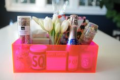 How to Build the Perfect Gift Basket - Cupcakes & Cashmere
