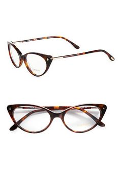 Tom Ford Modern Cat's Eye Plastic Eyeglasses