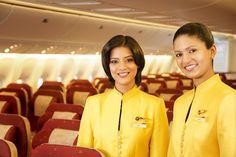 Jet Airways crew!