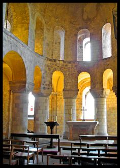 Chapel of St. John the Evangelist - London, Tower of London, UK, amazing Norman church