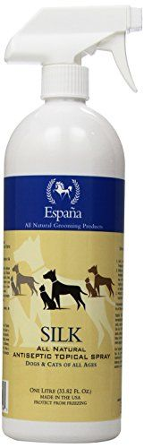 Espana Silk ESP2020DC Specially Formulated Silk Protein Antiseptic Topical for Dogs and Cats, 33.82-Ounce * Check out the image by visiting the link.