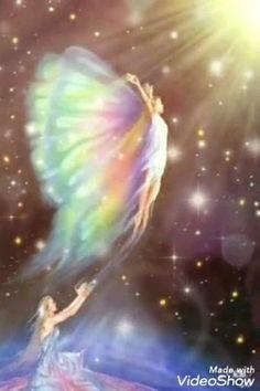 Skull Wallpaper, Scenery Wallpaper, Beautiful Fairies, Beautiful Gif, Smileys Gif, Tweety Bird Quotes, Light Angel, Angel Artwork, Angel Pictures