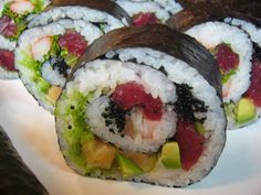"""""""February 3rd is Setsubun, the day before the beginning of spring season. Japanese eat sushi roll called Eho-Maki (""""lucky direction roll"""") with seven ingredients wishing good luck through out of the year."""" - motogucci"""