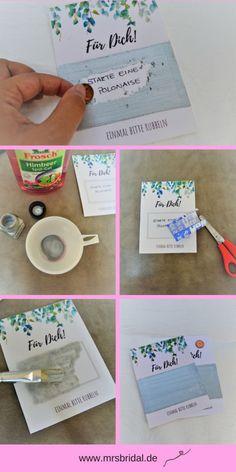 DIY Rubbellosen für die Hochzeit ganz einfach selber machen. www.mrsbridal.de