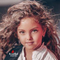 Karolina Radi - 6 Years • Dad: Palestinian from Kuwait & Mom: Russian ♥️