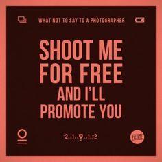 La labor de fotógrafo implica responsabilidades que sólo ellos saben desempeñar y puede molestarles que que los demás les digan cómo hacer su trabajo.