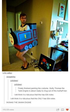 Thomas the Skank Engine lol