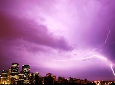Electric storm  Posted by: Charlotte Bragg // July 13, 2012  Calgary, Alberta // Shot: July 12, 2012
