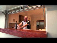 Kitchen Servery Window