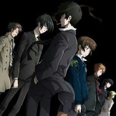 Psycho Pass #anime #manga