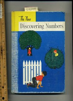 LEO Brueckner ~ The New Discovering Numbers 1957 Math Primer = Dick Jane Style