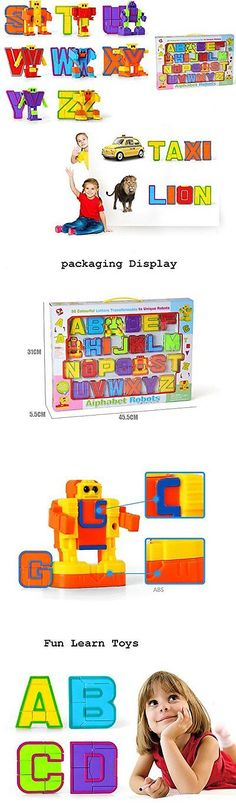 Other Alphabet and Language Toys 11732: Mallya Alphabet Robot 26 Pieces For Preschool Kids Educational Toys -> BUY IT NOW ONLY: $50.48 on eBay!