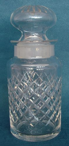 Early Century Cut Lead Crystal Pickle Jar Legacy Antiques and Collectibles Ltd Pickle Jars, Pickles, Vase, Crystals, Antiques, Antiquities, Antique, Crystal, Pickle