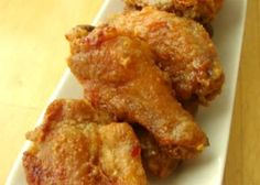 Sticky Ginger Garlic Oven Fried Chicken Wings Recipe Video