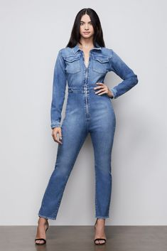 Jean Overalls, Denim Jumpsuit, Denim Jeans, International Shopping, Recycled Fabric, Stretch Jeans, Shapewear, Jumpsuits, Cool Style