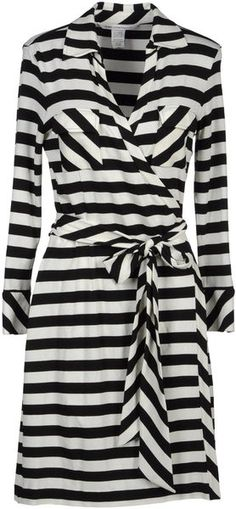 Diane von Furstenberg Mini and short dresses for Women Dresses Short, Get Dressed, Diane Von Furstenberg, Dress To Impress, Wrap Dress, Clothes For Women, My Style, Striped Dress, Outfits
