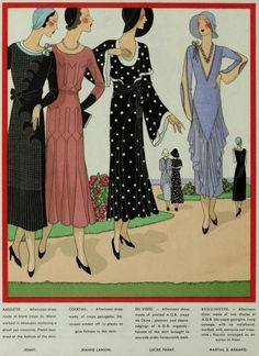 Dresses, Art-Goût-Beauté May, 1931