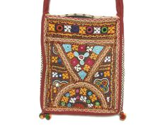 Vintage Ethnic Hand Embroidered and by redpoppyvintageshop on Etsy, $32.00