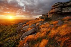 Pew Tor Grasses by Alex Nail on 500px