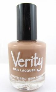 Verity Nail Lacquer - Lite Brown F11
