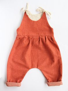 Red Creek Handmade 'Penny' Overalls // www.littleheirloom.com