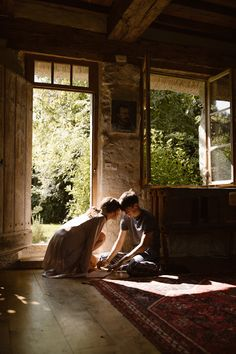 """The couple writes letters together as they prepare to say """"I do"""" at this French wedding Cute Relationship Goals, Cute Relationships, Couple Aesthetic, Aesthetic Pictures, The Love Club, Cute Couples Goals, Hopeless Romantic, Dream Life, Love Story"""