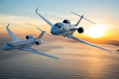 Gulfstream Aerospace announced EASA certification for the a flight simulator partnership with FlightSafety International and clean energy innovations. Gulfstream G650, Gulfstream Aerospace, Aviation News, Aviation Industry, Helicopter Charter, Luxury Private Jets, Commercial Aircraft, Jet Plane, Air Show