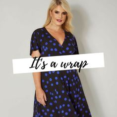 Yours Clothing Women/'s Plus Size Yours London /& White Polka Dot Jumpsuit