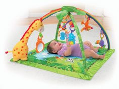 Fisher Price Rainforest Melodies Lights Deluxe #Gym