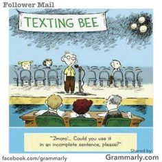 Texting Bee