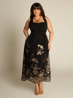Plus Size Cocktail Dresses Ekanta Beaded Plus Size Dress