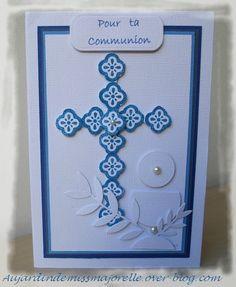 Carterie artisanale de Majorelle: Cartes de communion