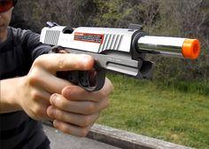 USAirsoft: Colt Rail Gun 1911 Review