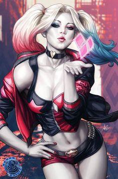 Harley Quinn n° 01 (2016) - Stanley Artgerm Lau.