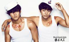 BLUE EYED K-POP IDOLS: #343 -(submitted OTP-edits)  TaecHo (Ok Taecyeon + Lee Junho) - 2PM