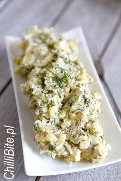 ChilliBite: Najlepsza sałatka ziemniaczana Vegan Vegetarian, Vegetarian Recipes, Cooking Recipes, Healthy Recipes, Fall Vegetable Side Dishes, Fall Vegetables, Simply Recipes, Polish Recipes, Potato Salad