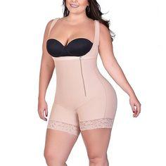 b76373344 Women s Plus Size Bodysuit Shapewear Firm Control Bodysuit Item   4500. Full  Body ...