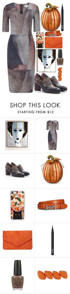 """""""Halloween is coming!"""" by erohina-d ❤ liked on Polyvore featuring beauty, Jigsaw, Chie Mihara, Improvements, Casetify, Tod's, Dorothy Perkins, NARS Cosmetics and OPI"""