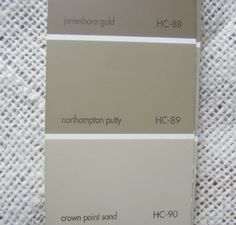 North Hampton Putty | My favorite rich color to use in a space where you want contrast. This ...