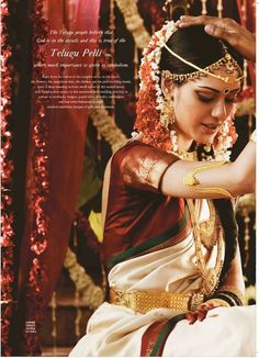 south indian bride http://www.pinterest.com/nricouple/ Follow our wedding boards for great ideas!