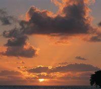 El clima de La Guajira presenta un régimen deficitario de lluvias, con períodos de sequía hasta de diez años.