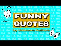 Mind shift master, Wolfgang Riebe shares 10 funny quotes by unknown authors for…