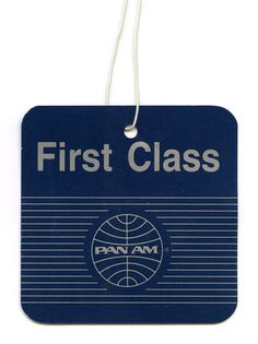 Pan Am....the airline of my childhood as my father was restationed various places overseas.
