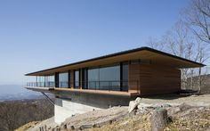 Sloping Success: Modern home located on a sloping plot  has amazing views and contemporary features