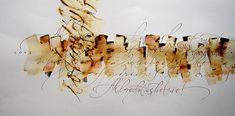 Dover Beach / 35 x 70cm / Tiralíneas, pincel y pluma metálica sobre papel Magnani Bianca / 2004