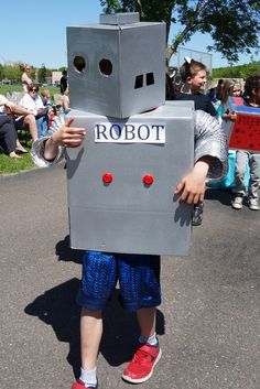 ROBOT is the Vocabulary Parade word...This project has proved to draw the enthusiasm of both boys and girls. Any word is possible!